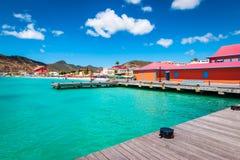 Free Tender Platform In The City Centre Of Philipsburg, St Maarten. Royalty Free Stock Photo - 159662295