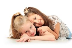 Tender relations Royalty Free Stock Photo