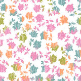 Tender roses seamless pattern Royalty Free Stock Photo