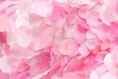 Tender soft pink textile petals wallpaper Royalty Free Stock Photo
