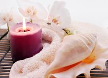Tender SPA background Stock Image