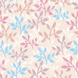 Tender twigs seamless pattern Stock Photography