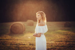 Tender woman Royalty Free Stock Images