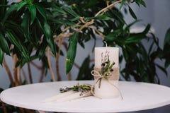 Tenderless im schönen Bild von Kerzen Stockbild