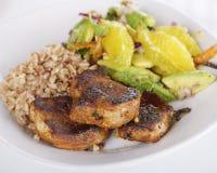 Tenderloin χοιρινού κρέατος μενταγιόν Στοκ Εικόνες