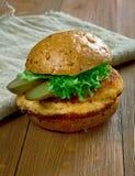 Tenderloin χοιρινού κρέατος σάντουιτς Στοκ εικόνες με δικαίωμα ελεύθερης χρήσης