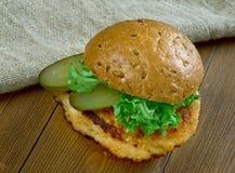 Tenderloin χοιρινού κρέατος σάντουιτς Στοκ Φωτογραφία