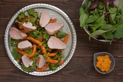 Tenderloin χοιρινού κρέατος Στοκ φωτογραφία με δικαίωμα ελεύθερης χρήσης
