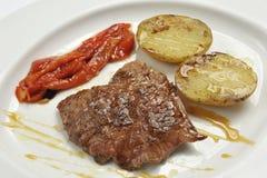 Tenderloin χοιρινού κρέατος Στοκ Φωτογραφία