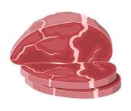 Tenderloin говядины костяшка свинины бесплатная иллюстрация