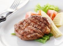 Tenderloin. Delicious tenderloin steak, shallow depth of field royalty free stock images