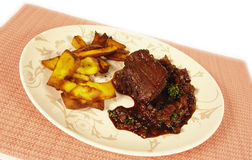 Tenderloin de carne venezuelano Fotos de Stock