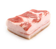 Tenderloin of lard Royalty Free Stock Photos
