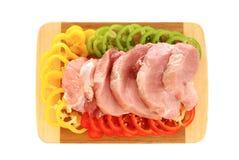 Tenderloin meat Stock Image