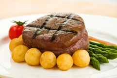 Tenderloin steak Royalty Free Stock Photos