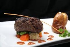 Tenderloin steak portion Royalty Free Stock Images