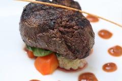 Tenderloin steak portion Stock Photos