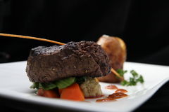 Tenderloin steak portion Royalty Free Stock Photography