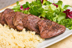 Tenderloin steaks Stock Images