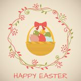 Tenderness Easter card. Stock Photo