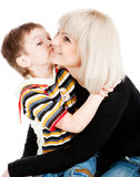 Tenderness and happiness Royalty Free Stock Images