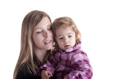 Tenderness: mother and child Royalty Free Stock Photography