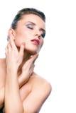 Tenderness of skin Stock Photo