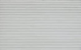 Tendine orizzontali grige del rullo immagine stock