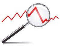 Tendência das vendas Fotografia de Stock