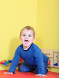Tendo o divertimento no jardim de infância Foto de Stock Royalty Free