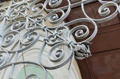 Tendresse dans des détails en métal Photos stock