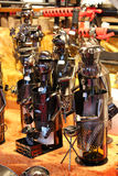 Tenedor de botella de acero Fotografía de archivo