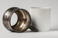 Tenedor de cristal Imagen de archivo libre de regalías