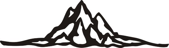Tenedor de la medalla de la escalada libre illustration