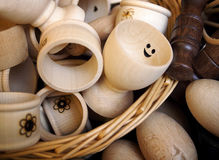 Tenedor del huevo Fotos de archivo