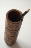 Tenedor del lápiz Fotografía de archivo