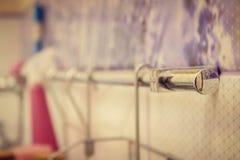 Tenedor en el estilo hermoso del cuarto de baño foto de archivo libre de regalías