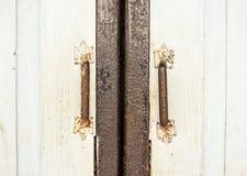 Tenedores retros de la puerta del estilo Foto de archivo