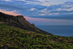 Teneguia. La Palma, Canary island Royalty Free Stock Photos