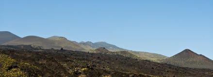 Teneguia volcan waaier, het eiland van La Palma Royalty-vrije Stock Fotografie