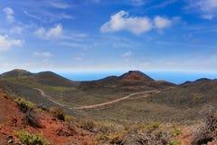 Teneguia volcano in La Palma Canary island Stock Image