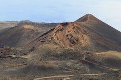 Teneguia volcano Stock Image