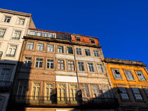 Tenement Buildings in Porto, Portugal. Tenement Houses in Porto, Portugal in the historic centre of the city Royalty Free Stock Photo