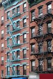 Tenement de New York City Fotografia de Stock Royalty Free