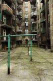 Tenement house. In katowice poland stock photos