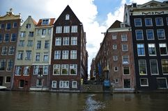 Tenement house. In Amsterdam, Holland Stock Images