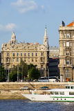 Tenement House in Budapest Stock Image