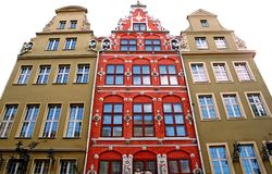 Tenement houses Royalty Free Stock Image