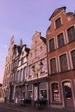 Tenement houses in Mechelen in Belgium Royalty Free Stock Photos