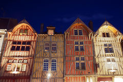Tenement houses in old town Stock Image